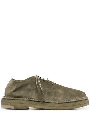 Marsèll soft lace-up leather shoes - Green