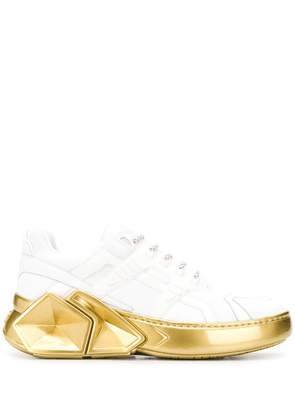Hide&Jack Silverstone chunky sole sneakers - White