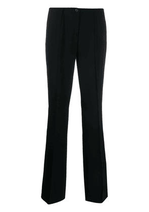Cambio low-rise straight trousers - Black