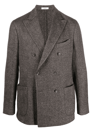 Boglioli double-breasted button up jacket - Brown