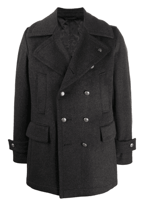 Gabriele Pasini double-breasted wool coat - Grey