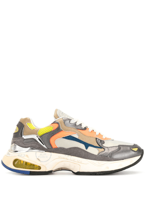 Premiata colour-block sneakers - Brown