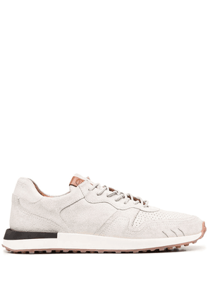 Buttero low-top suede sneakers - White