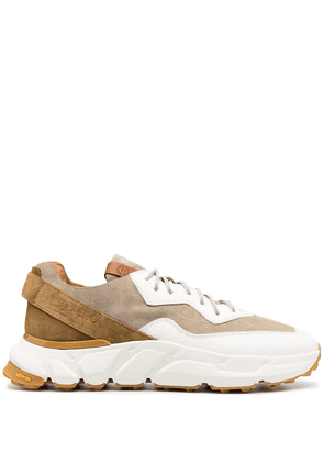 Buttero suede panel sneakers - White