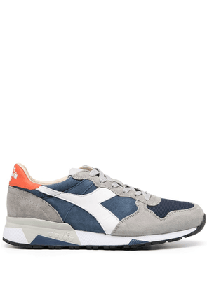 Diadora panelled low-top sneakers - Blue