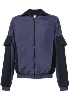 Cottweiler colourblocked bomber jacket - Purple