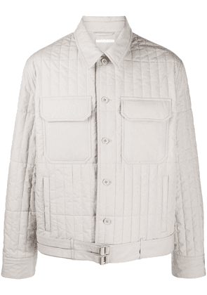 Helmut Lang padded button-up jacket - Grey