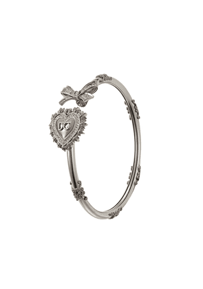 Dolce & Gabbana 18kt white gold Devotion diamond bracelet - Silver