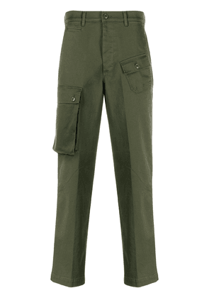 Department 5 asymmetric cargo trousers - Green