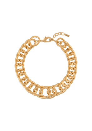 Saint Laurent chunky chain necklace - GOLD