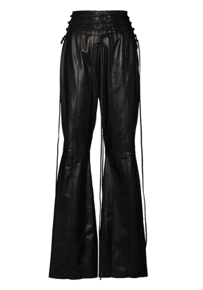 16Arlington Lucerene flared trousers - Black