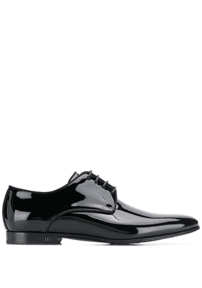 Dolce & Gabbana patent leather Derby shoes - Black