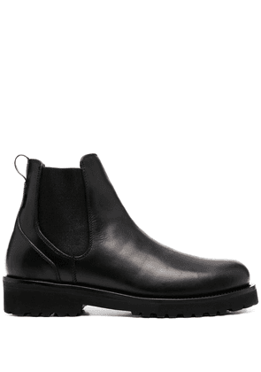 Woolrich chunky sole ankle boots - Black