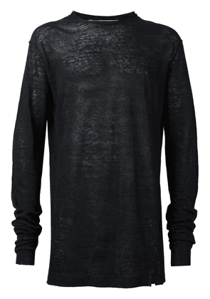 Damir Doma fine knit jumper - Blue
