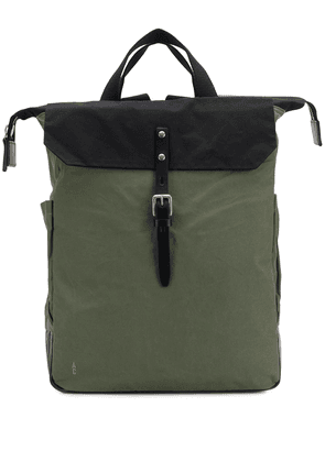 Ally Capellino structured square backpack - Green
