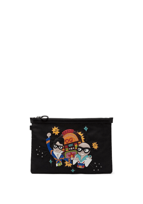 Dolce & Gabbana #DGFamily clutch bag - Black