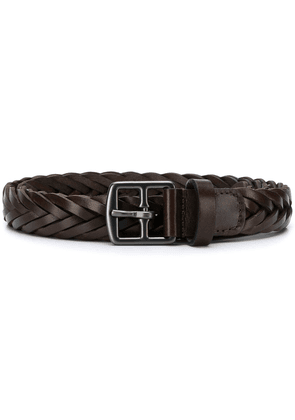 Anderson's braided belt - Brown