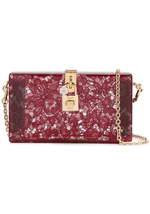 Dolce & Gabbana 'Dolce' box clutch - Red