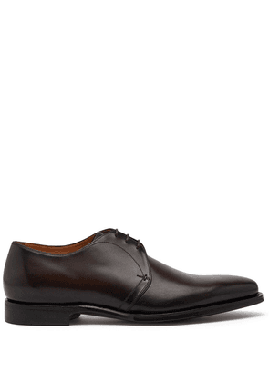 Dolce & Gabbana leather Oxford shoes - Brown