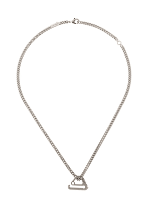 Off-White Mecanic pendant necklace - Silver