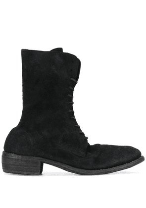 Guidi lace-up boots - Black