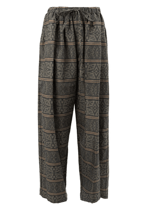 Edward Crutchley plaid trousers - Multicolour
