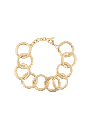 Saint Laurent chain link necklace - Gold
