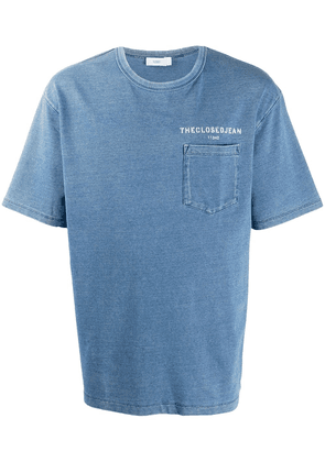 Closed chambray cotton t-shirt - Blue