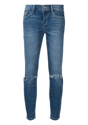 Current/Elliott ripped detail jeans - Blue