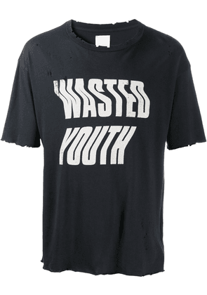 Alchemist Wasted Youth cotton T-shirt - Black
