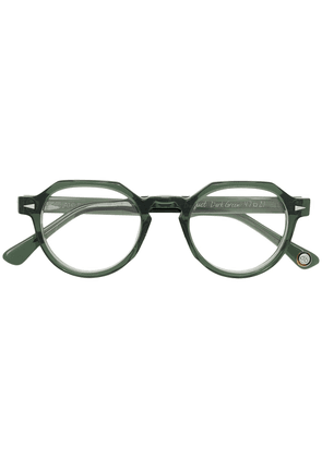 Ahlem Ruebosquet round-frame optical glasses - Green