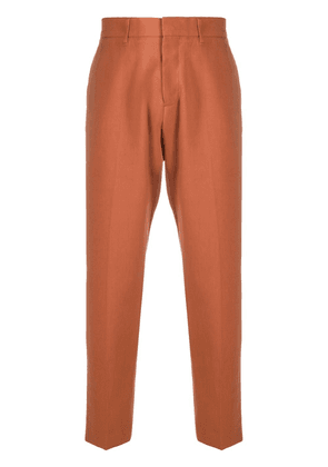 Costumein cropped tailored trousers - Brown