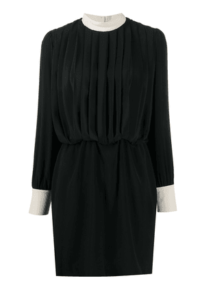 Department 5 short pleated dress - Black