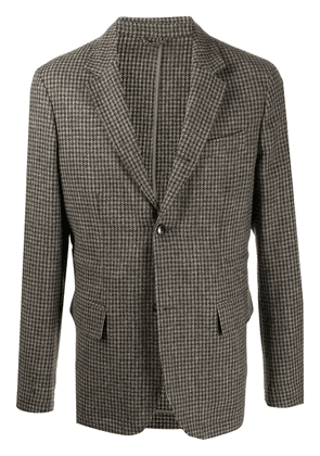 Closed tweed tailored blazer - Brown
