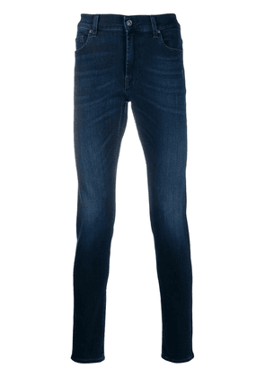 7 For All Mankind Ronnie tapered skinny jeans - Blue