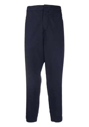 Barena cropped elasticated waist trousers - Blue