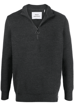 Barbour half-zip long-sleeve jumper - Grey
