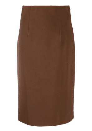 Gianluca Capannolo classic pencil skirt - Brown
