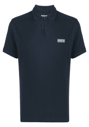 Barbour logo-print polo shirt - Blue