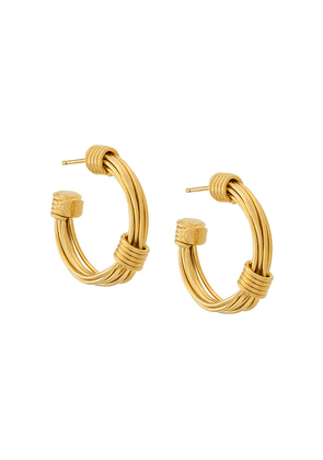 Gas Bijoux Ariane hoop earrings - Metallic
