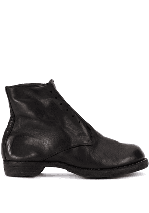 Guidi slip-on fitted boots - Black