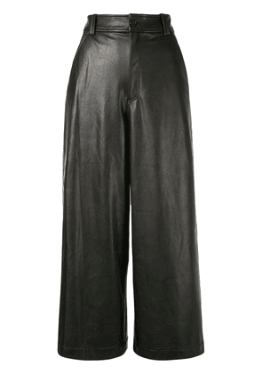 A.L.C. Wiles cropped wide-leg trousers - Black