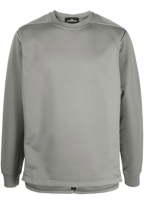 Stone Island Shadow Project long-sleeved exposed seam jumper - Grey