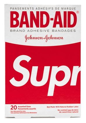 Supreme BAND-AID bandage pack - Red