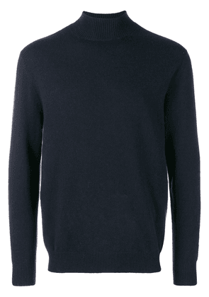 N.Peal turtleneck fitted sweater - Blue