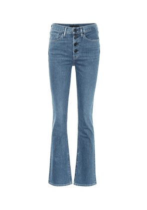 Poppy high-rise bootcut jeans