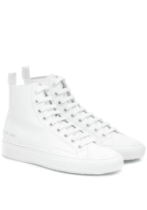 Tournament High leather sneakers