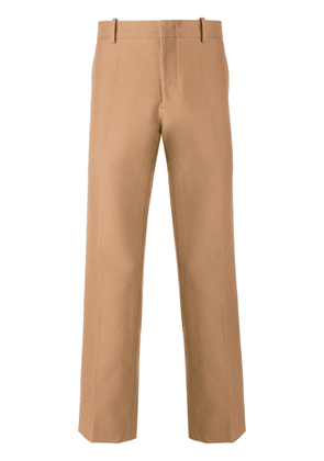 Nº21 cropped straight trousers - Brown