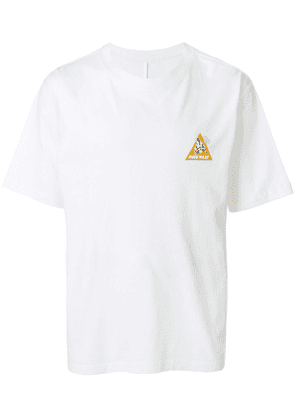 UNRAVEL PROJECT skull T-shirt - White