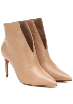 Megan 85 leather ankle boots
